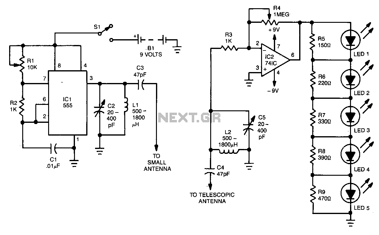 Strobe Circuit Diagram