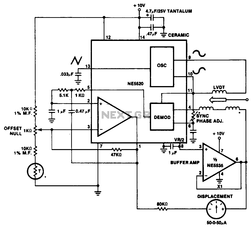Daytronic Lvdt Wiring Diagram