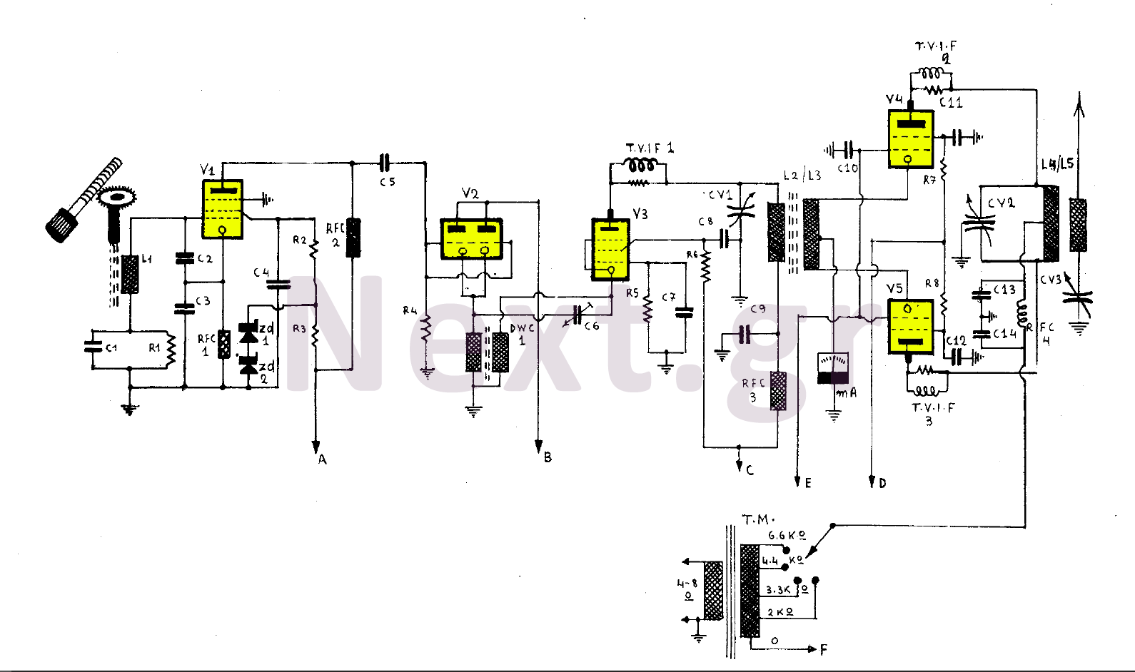 Audio Amplifier Circuit Audio Circuits Next