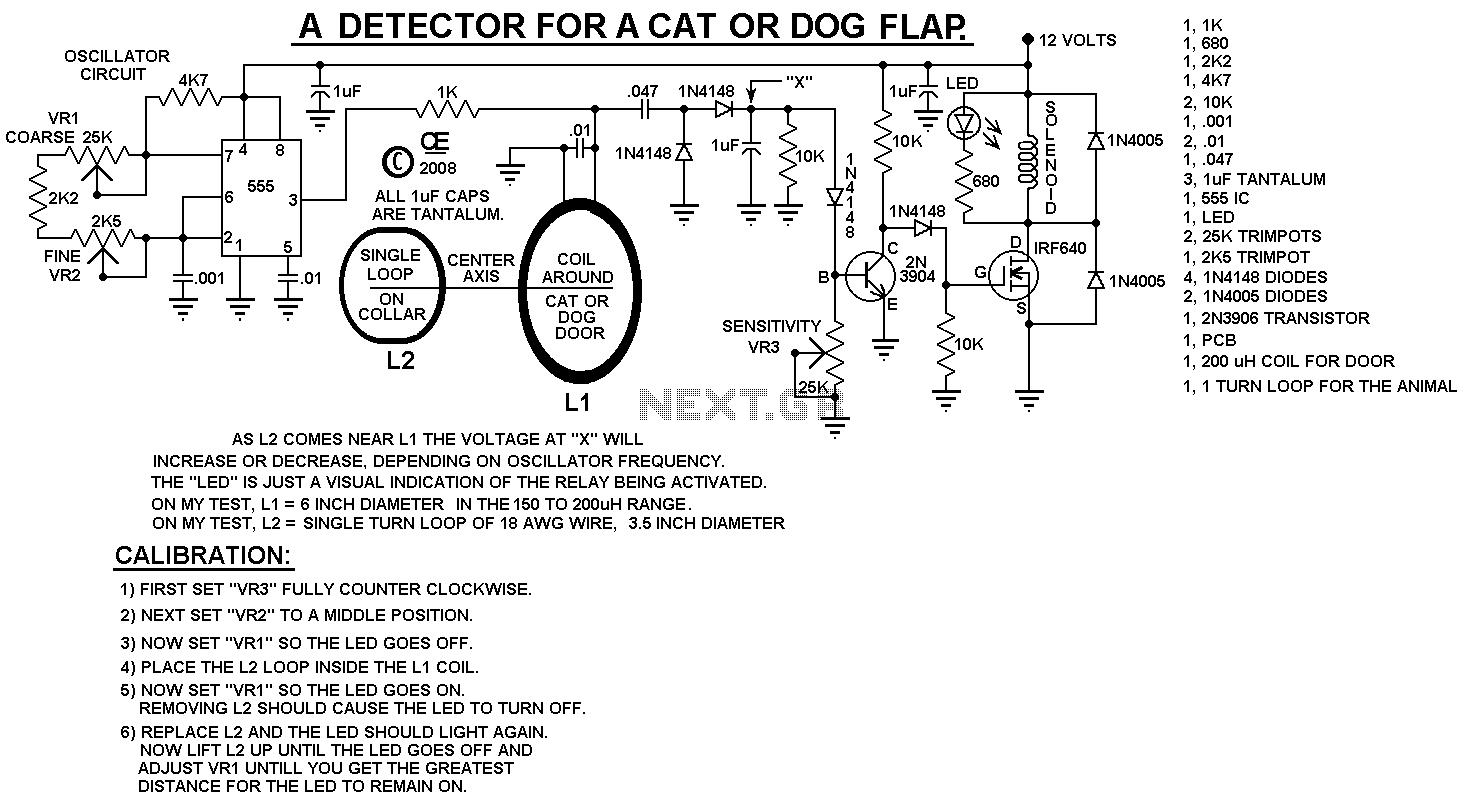 Sensor Detector Circuit Page 19 Next
