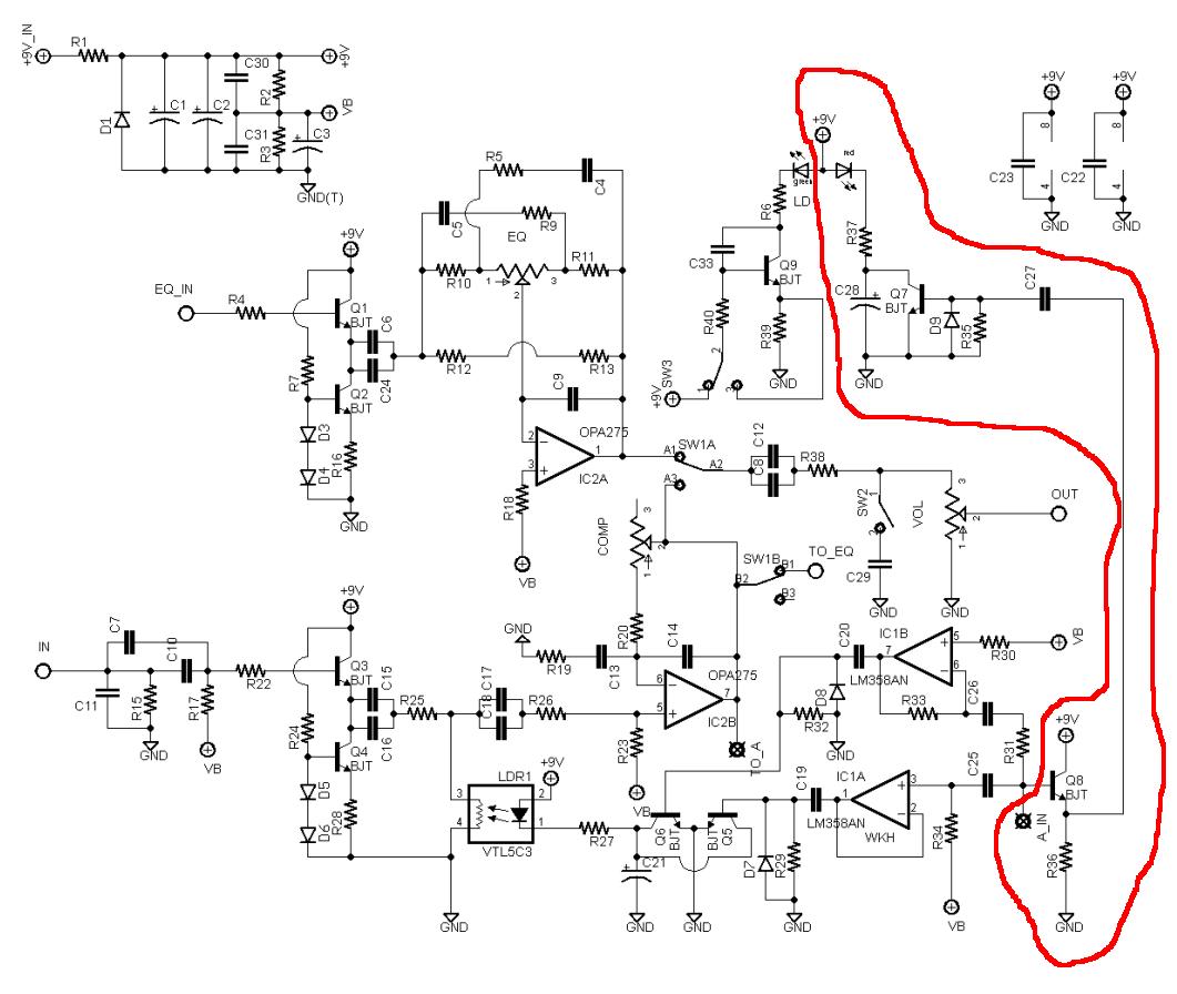 Og Vu Meter Circuit