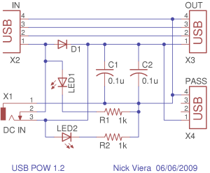 4 Port Usb Hub Circuit Diagram  Wiring Diagram and Schematic