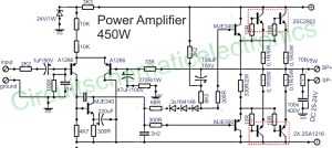 450w audio power amplifier circuit under Repository