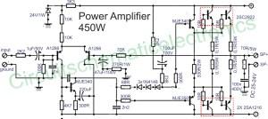 450w audio power amplifier circuit under Repository