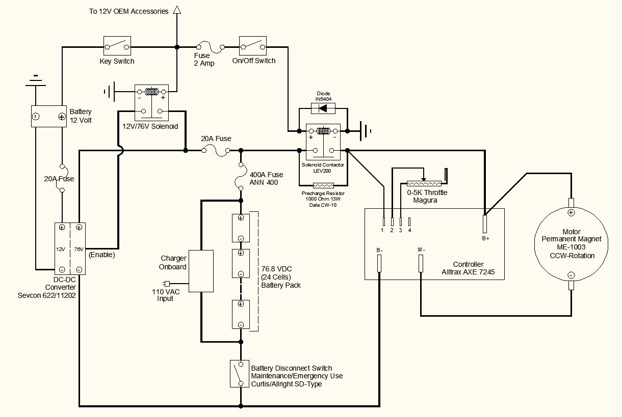 Simple Wiring Diagram For 12v Alternator