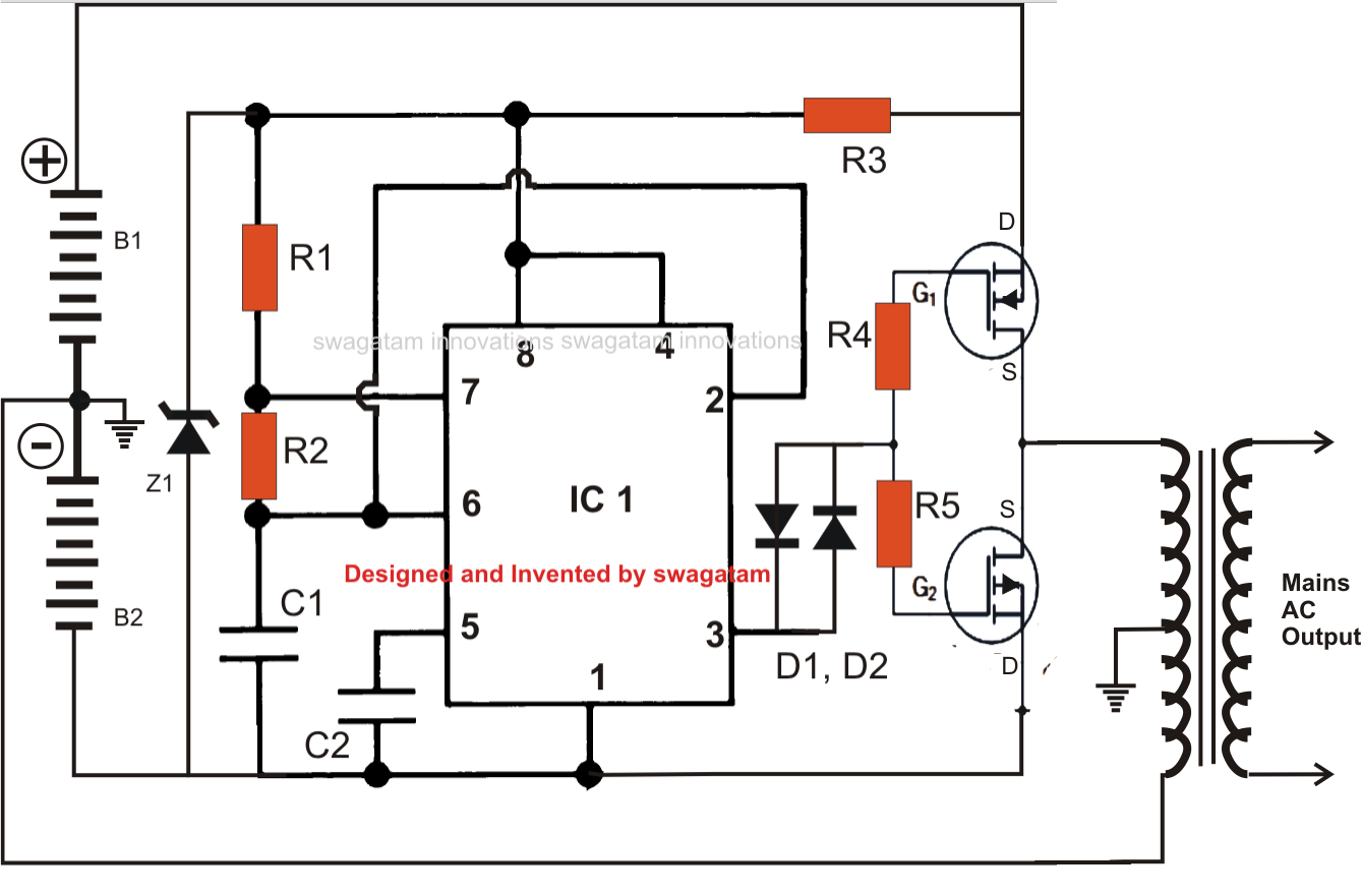 Power Outlets Inverter Wiring