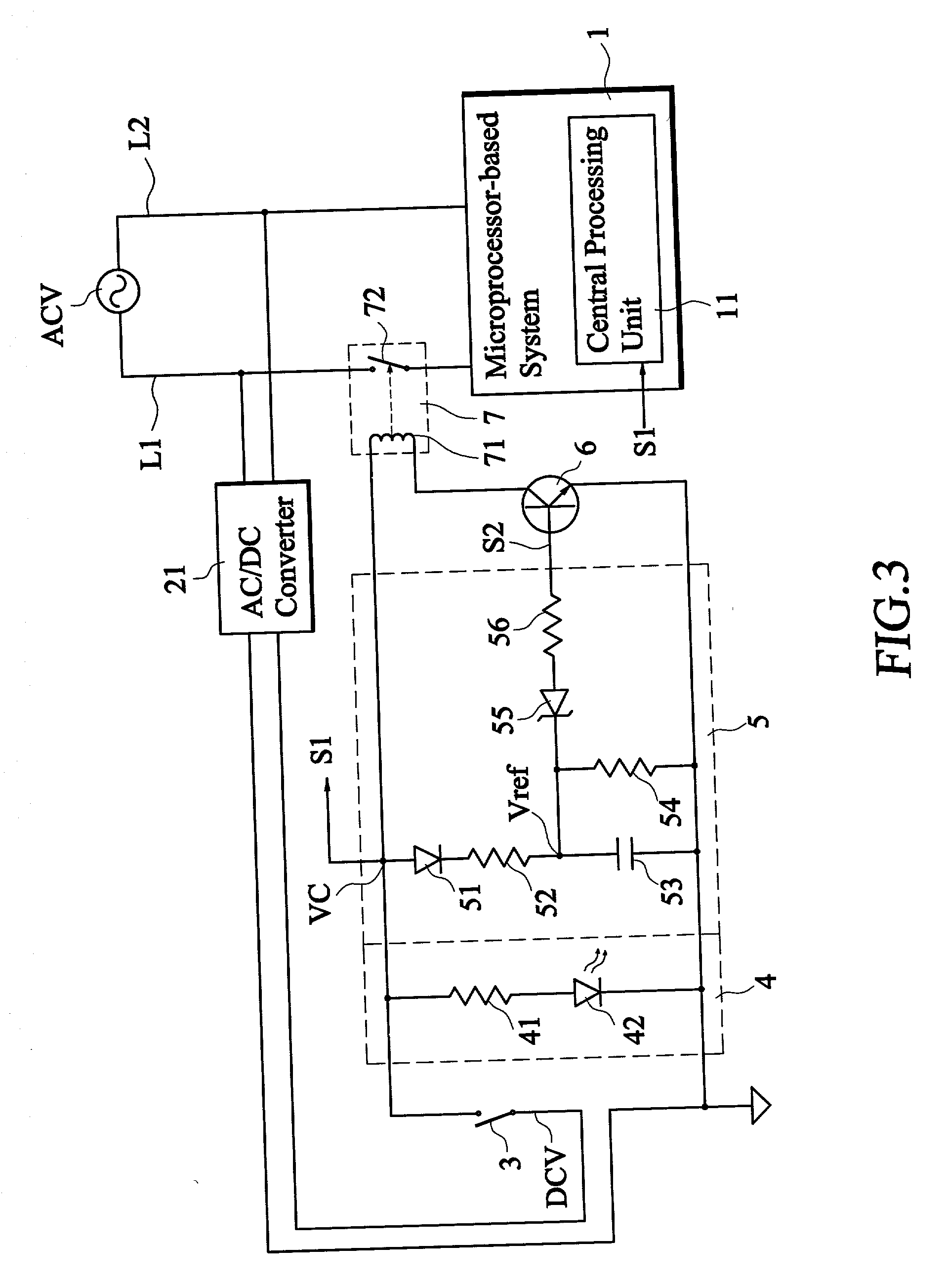 Power Control Circuit With Power Off Time Delay Control
