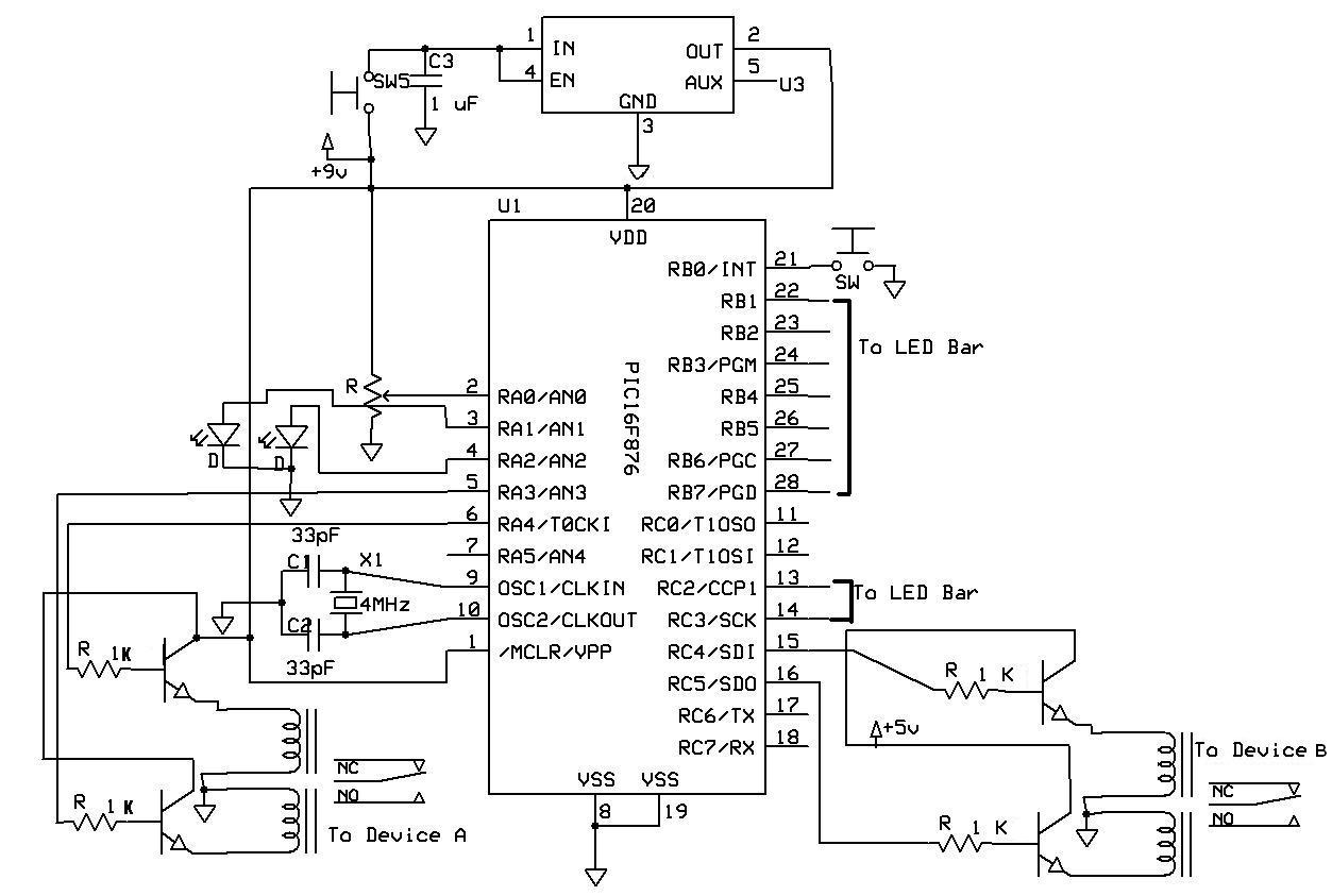 Off Delay Timer Circuit Diagram