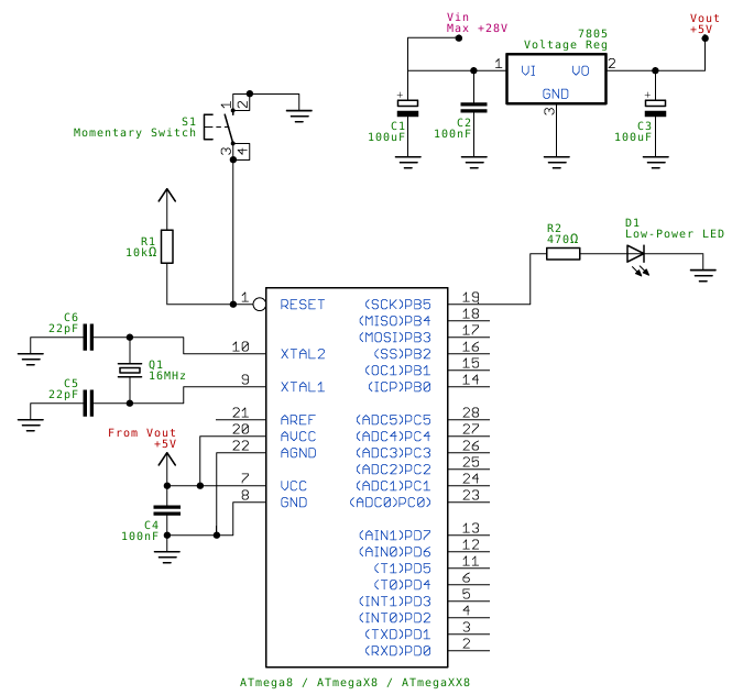 Regulated Power Supply Schematics