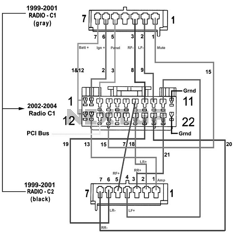99 Cavalier Headlight Wiring Diagram