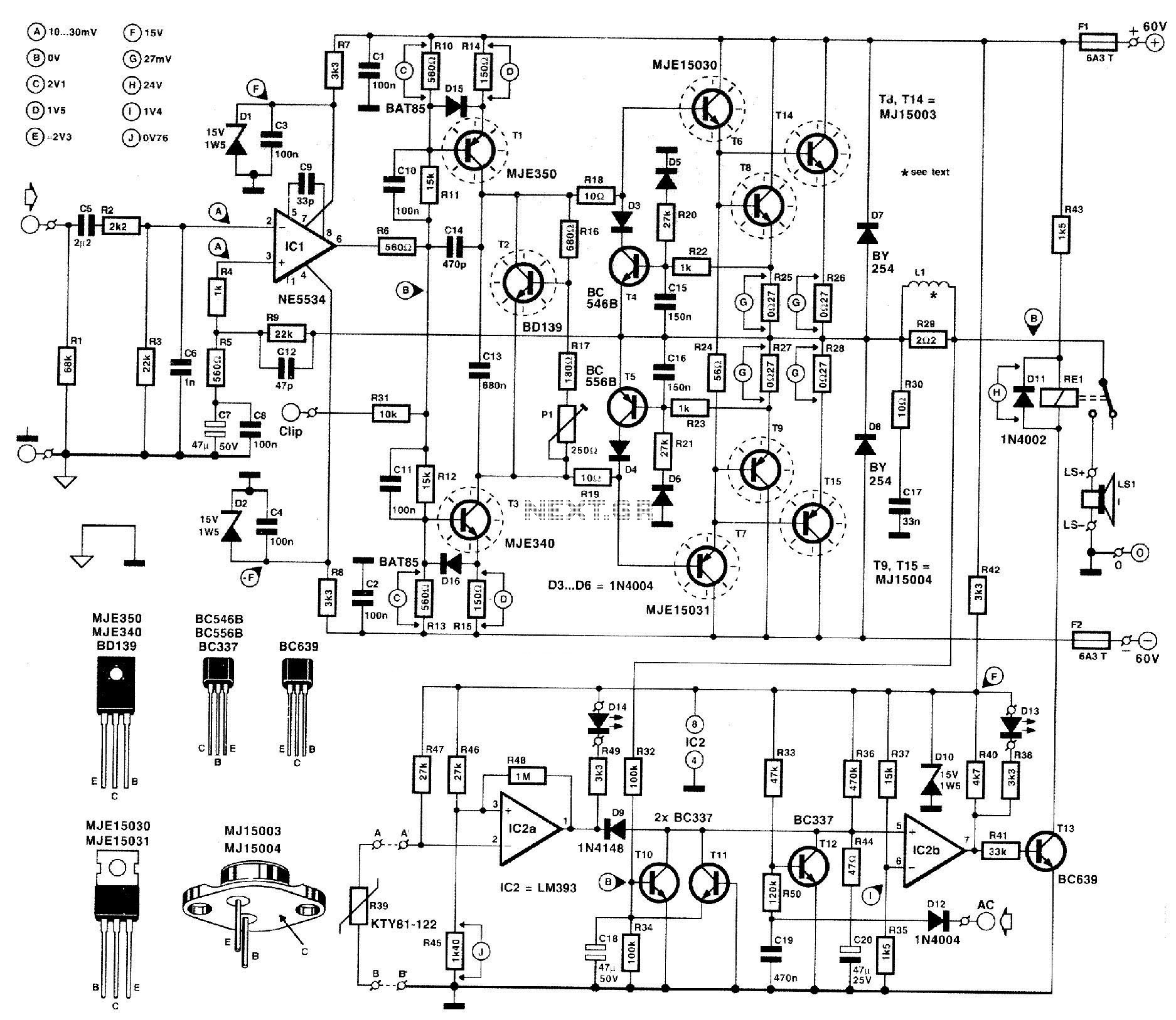 Audio Stereo Circuit Page 6 Audio Circuits Next