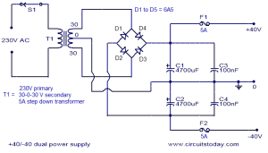150 watt amplifier circuit under Repositorycircuits