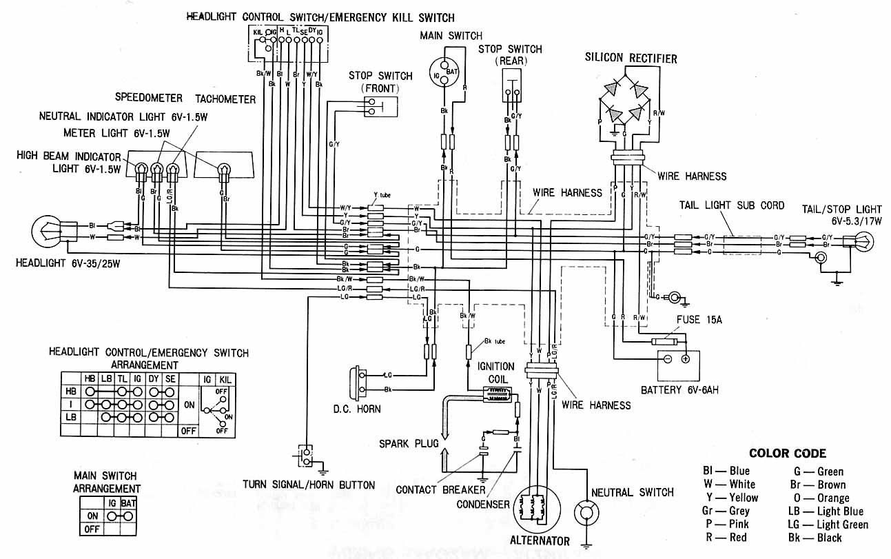 Mercury 500 Wiring Schematic Diagram