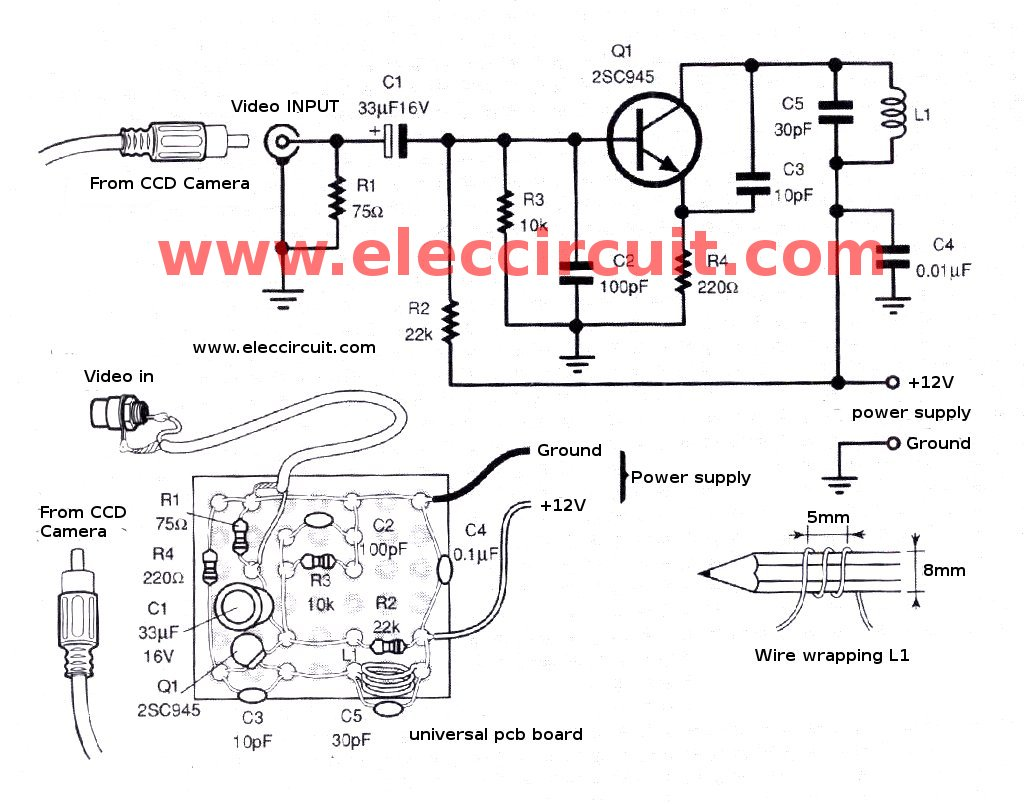 Camera Circuit Page 3 Video Circuits Next