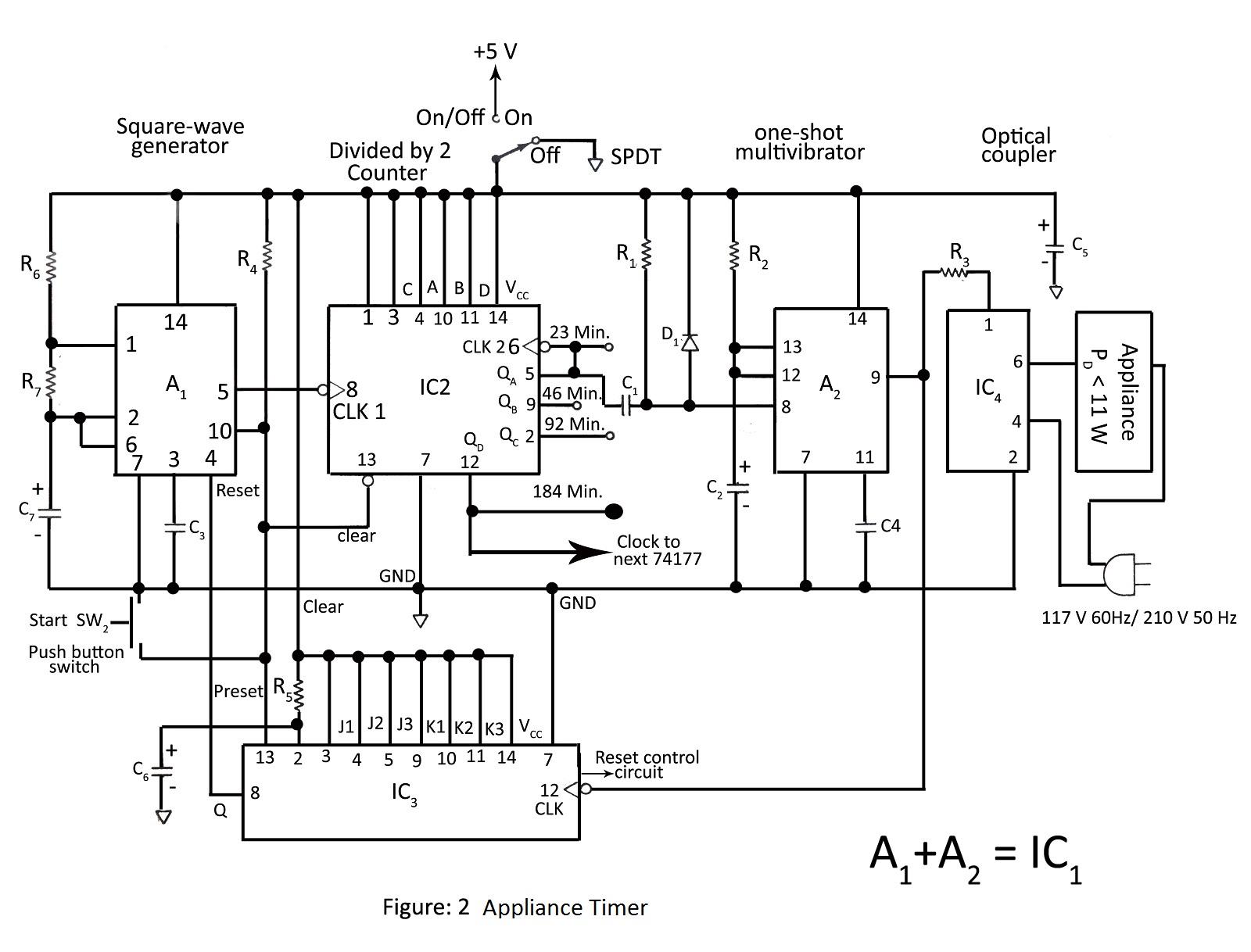 Vu Meter Circuit Page 3 Meter Counter Circuits Next