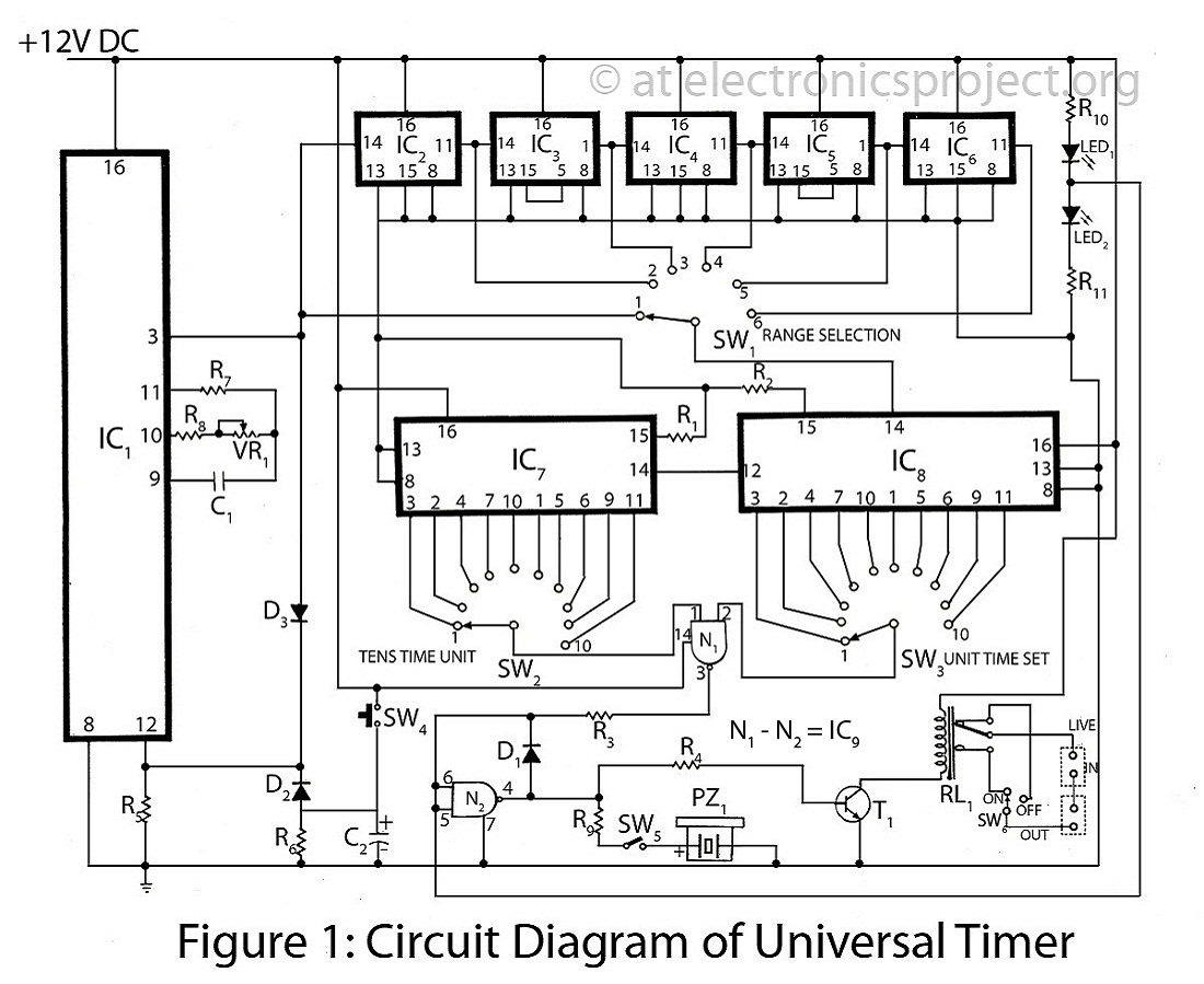 Timer Circuit Page 3 Meter Counter Circuits Next