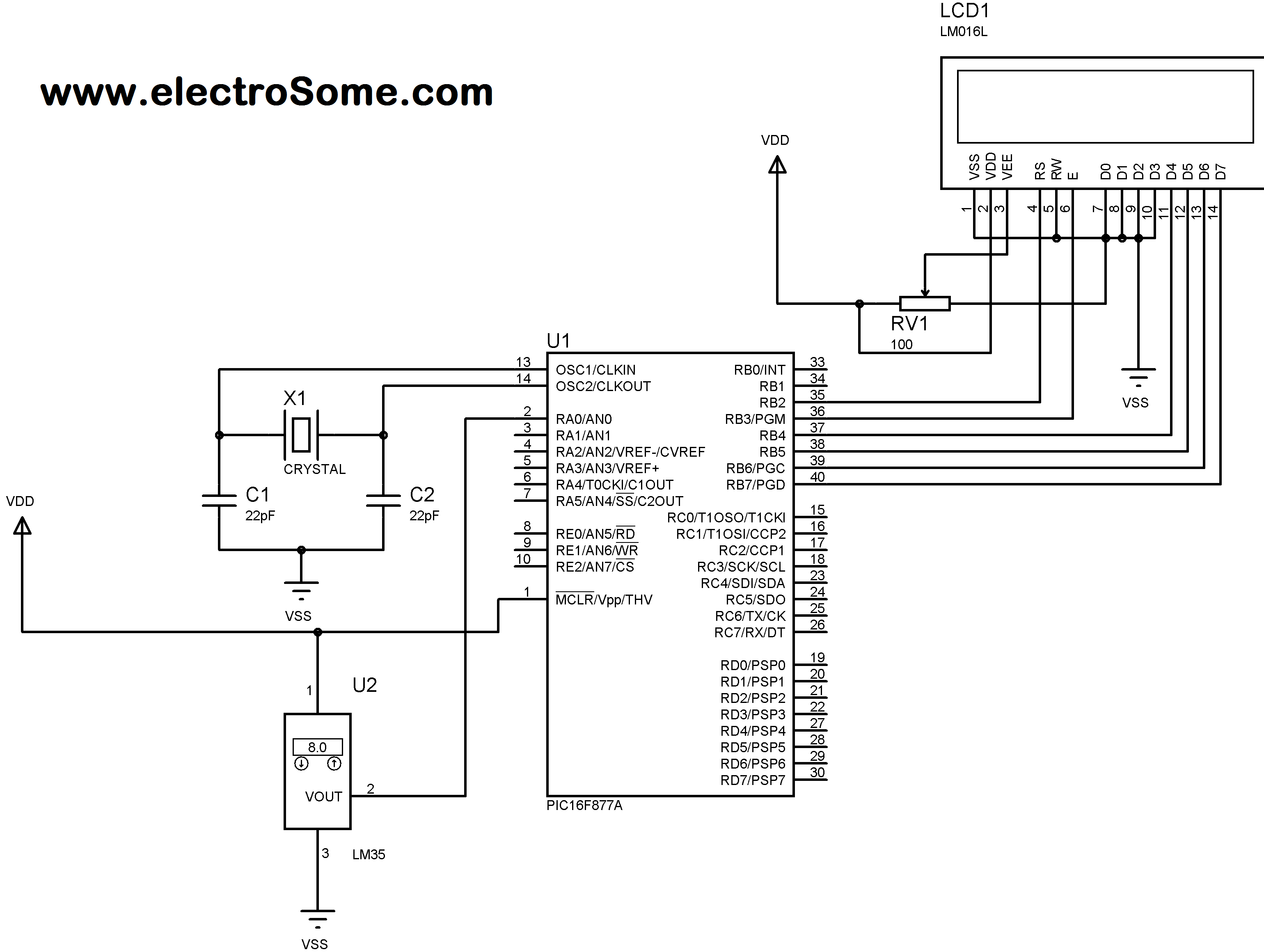 Thermometer Circuit Page 7 Meter Counter Circuits Next