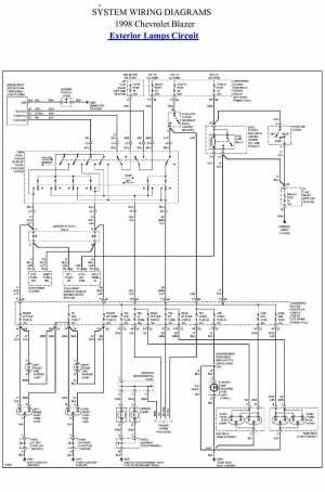 1998 Chevy S10 Engine Diagram Starter | Wiring Library