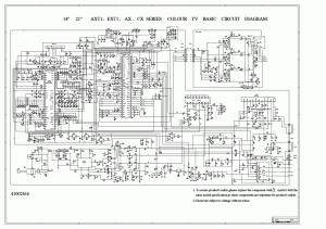 circuit diagram of lcd tv video system under Repositorycircuits 32390 : Nextgr