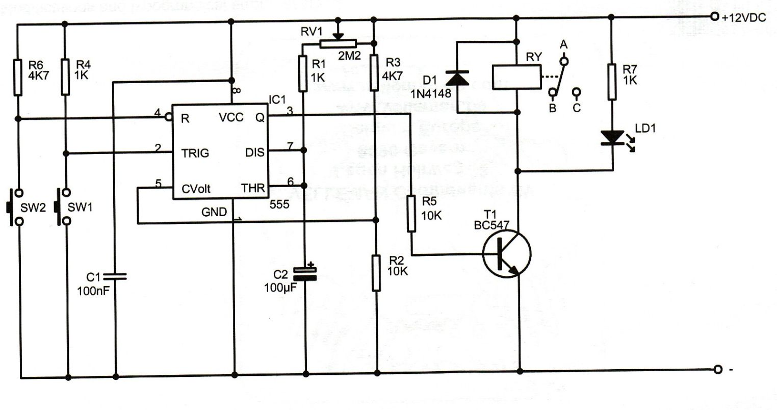 Delay Relay Schematic