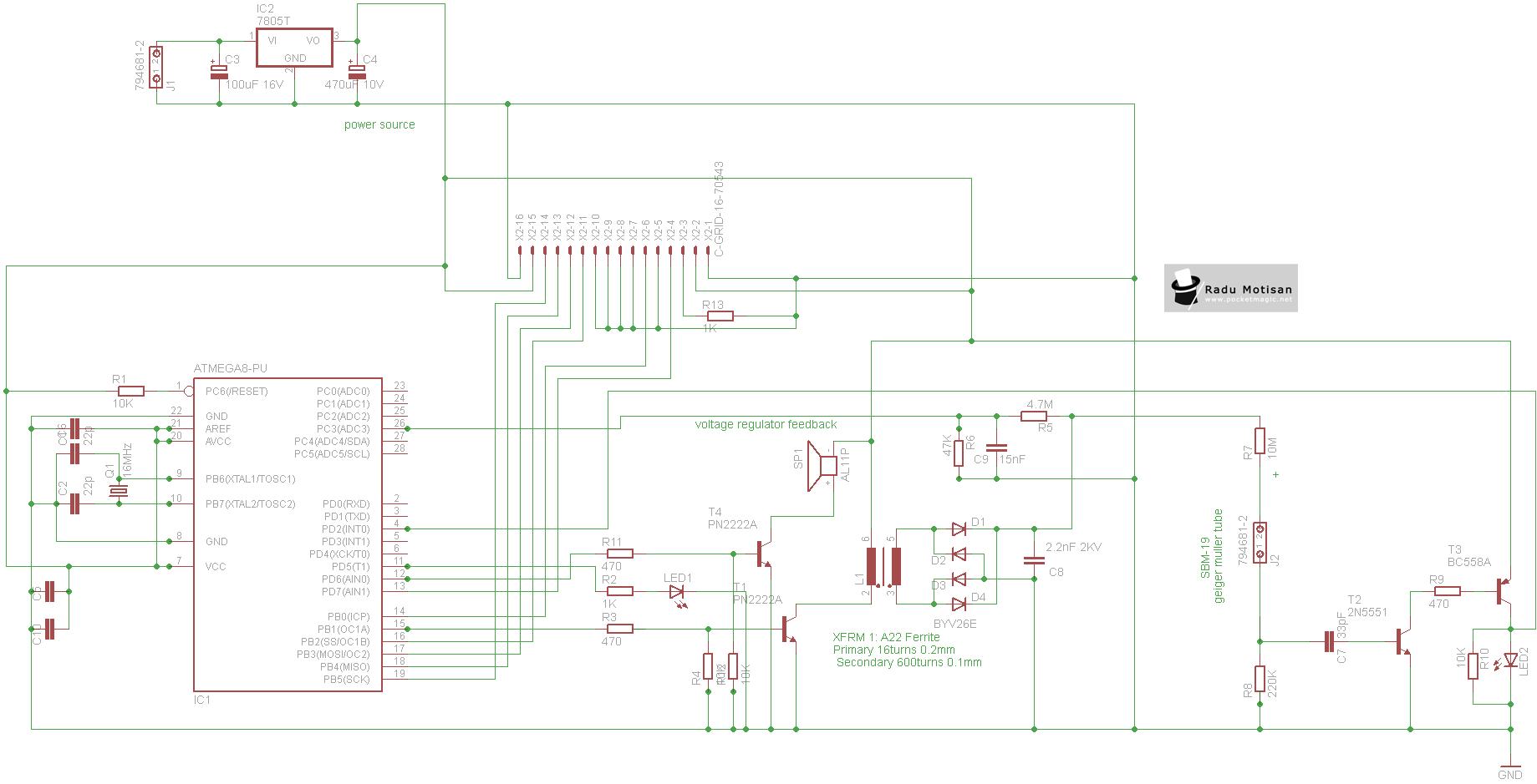 Sensor Radiation Circuit Page 2 Sensors Detectors