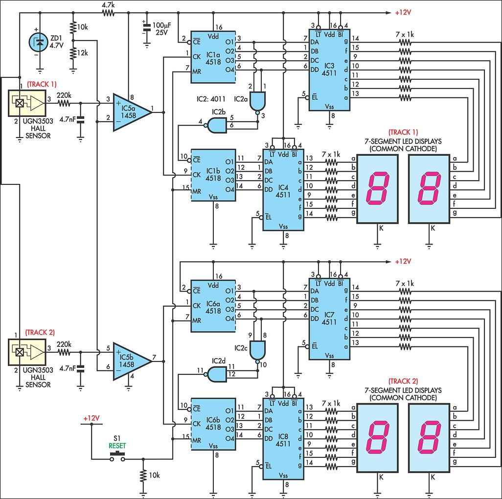 Counter Circuit Page 5 Meter Counter Circuits Next
