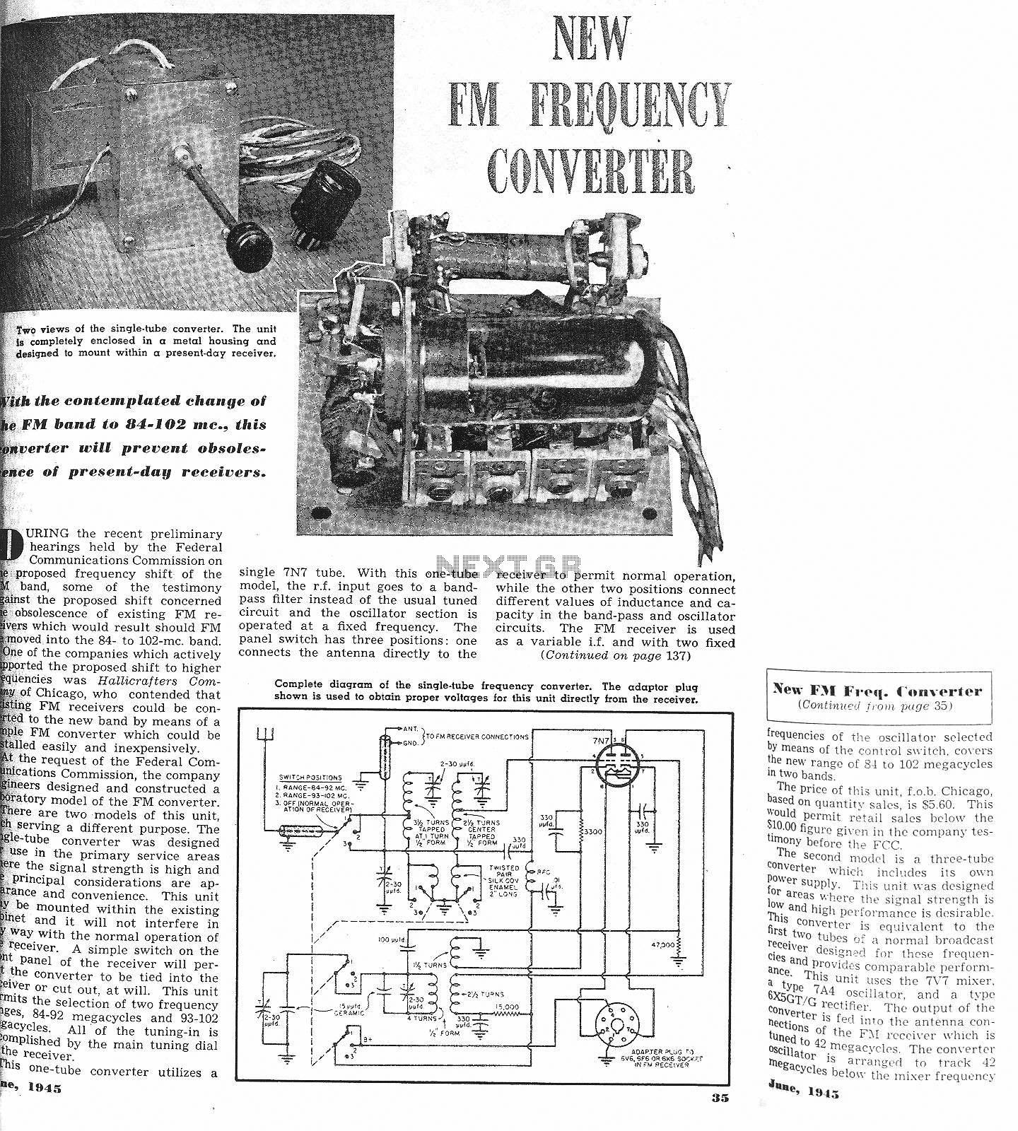 Fm Circuit Page 13 Rf Circuits Next