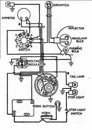 Vincent Motorcycle Electrics under Repositorycircuits 53645 : Nextgr