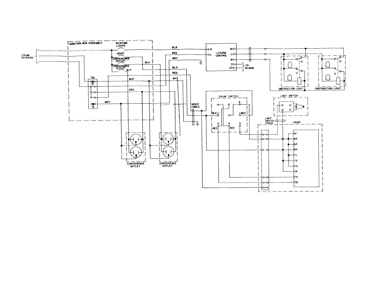 Antenna Tower Electrical Circuit Schematic Wiring Diagram