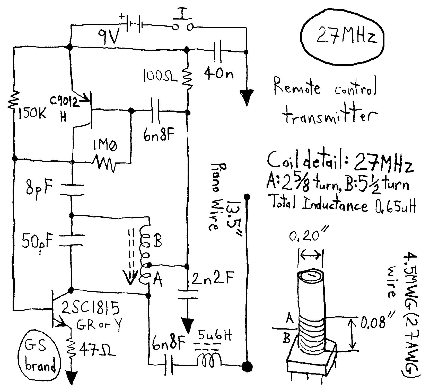 Gt Rf Gt Transmitters Gt Atv Jr Transmitter 440mhz Circuit