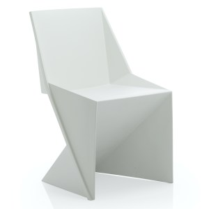 Freedom Visitor Stacking Chair White Polypropylene