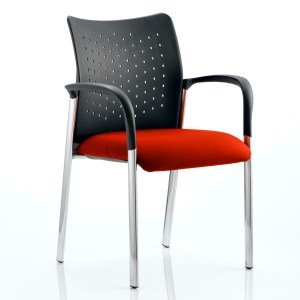 Academy Bespoke Colour Seat With Arms Tabasco Red