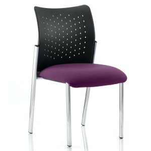 Academy Bespoke Colour Seat Without Arms Tansy Purple