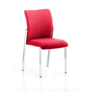 Academy Bespoke Colour Fabric Back With Bespoke Colour Seat Without Arms Bergamot Cherry