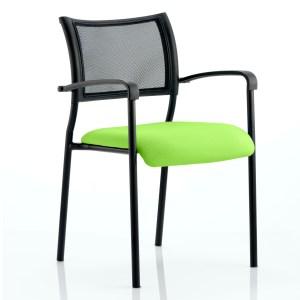Brunswick Bespoke Colour Seat Black Frame Myrhh Green
