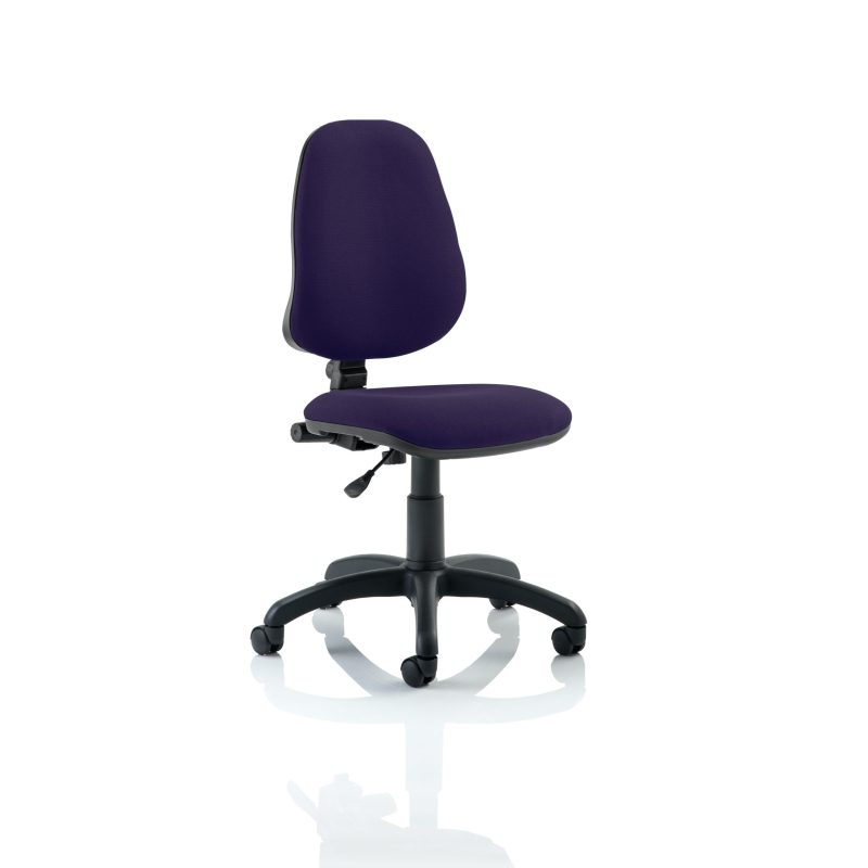 Eclipse I Lever Task Operator Chair Bespoke Colour Tansy Purple