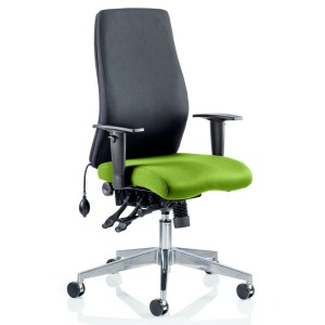 Onyx Bespoke Colour Seat Without Headrest Myrhh Green