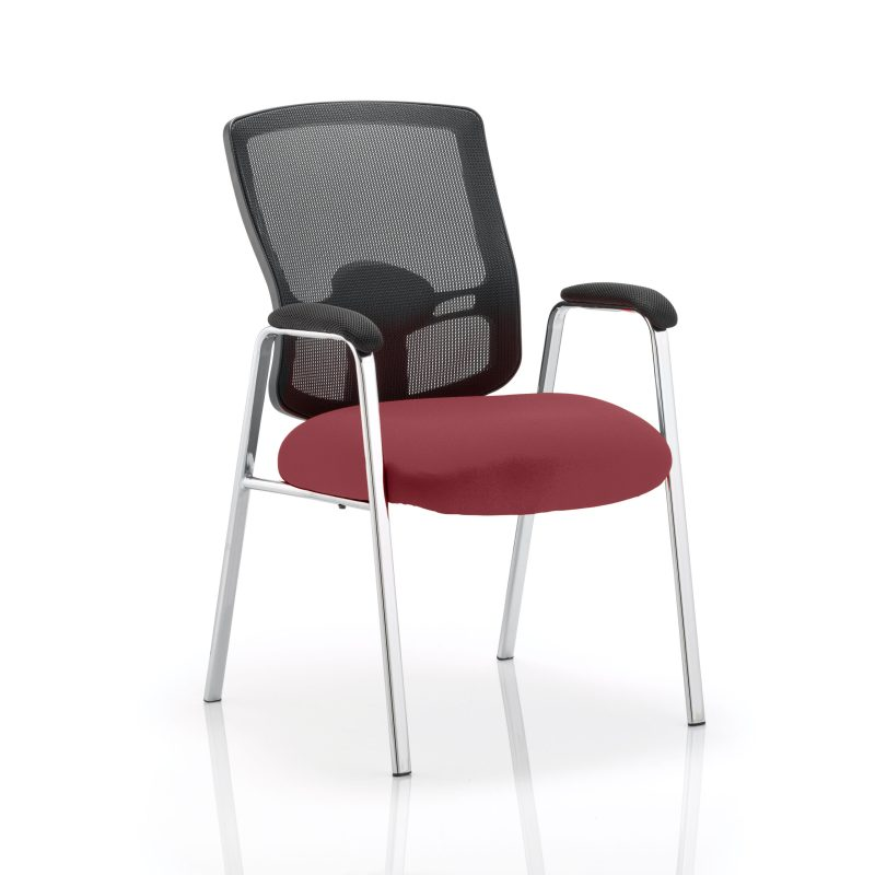 Portland Visitor (Straight Leg) Bespoke Colour Seat Gingseng Chilli