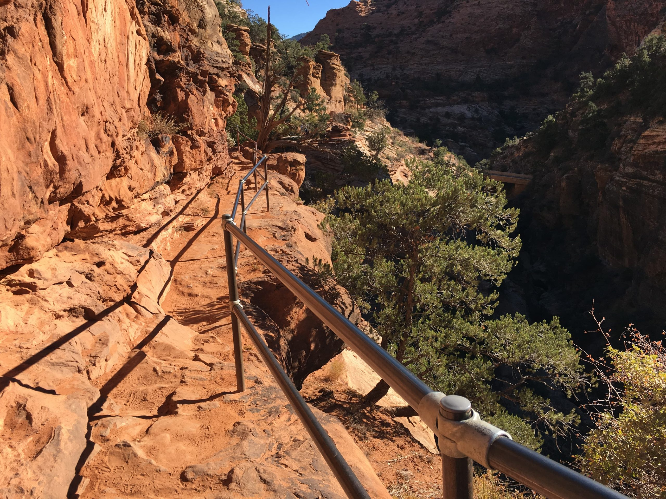 Canyon Overlook Trail at Zion National Park