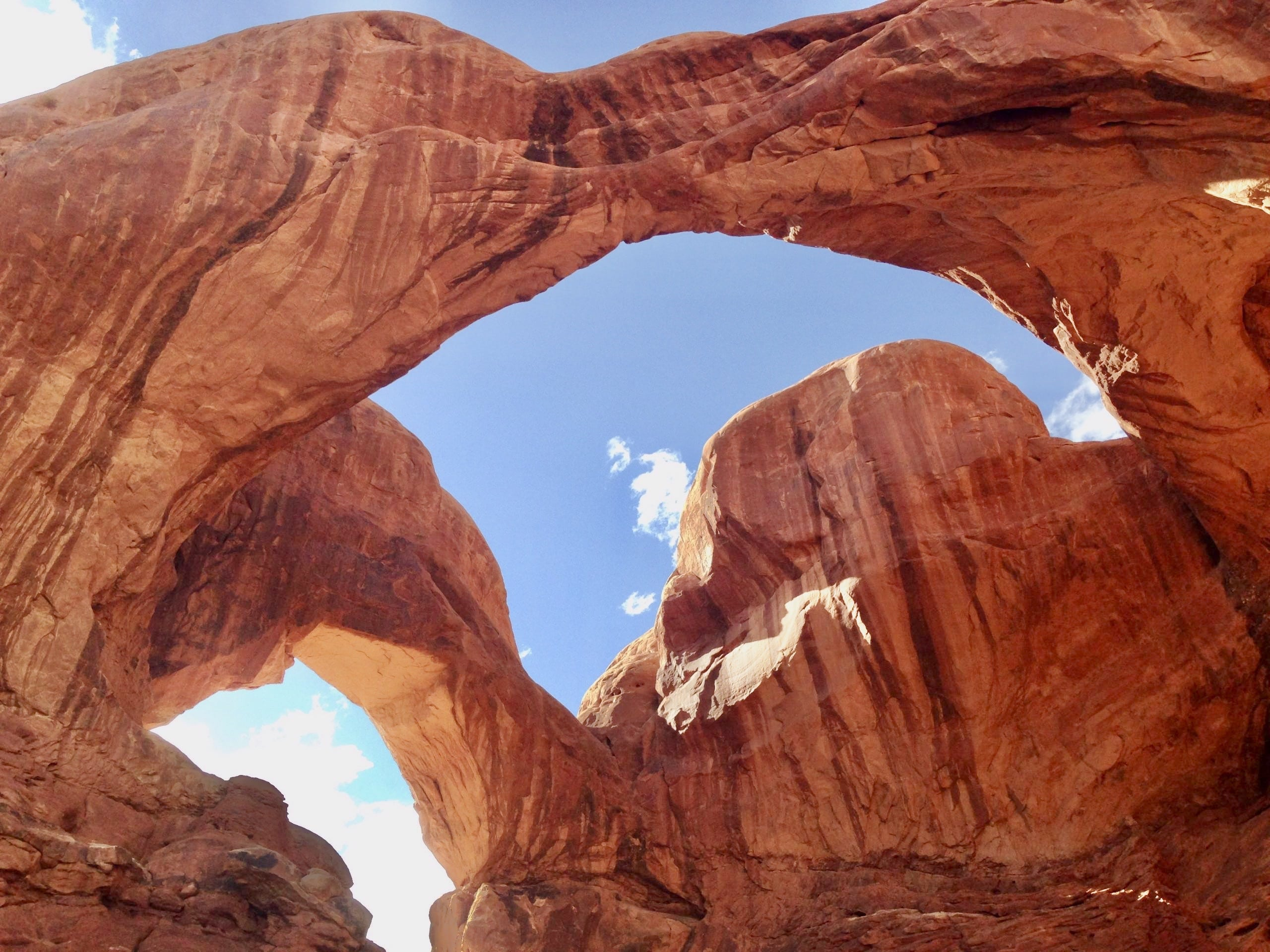 Double Arch at Arches National Park