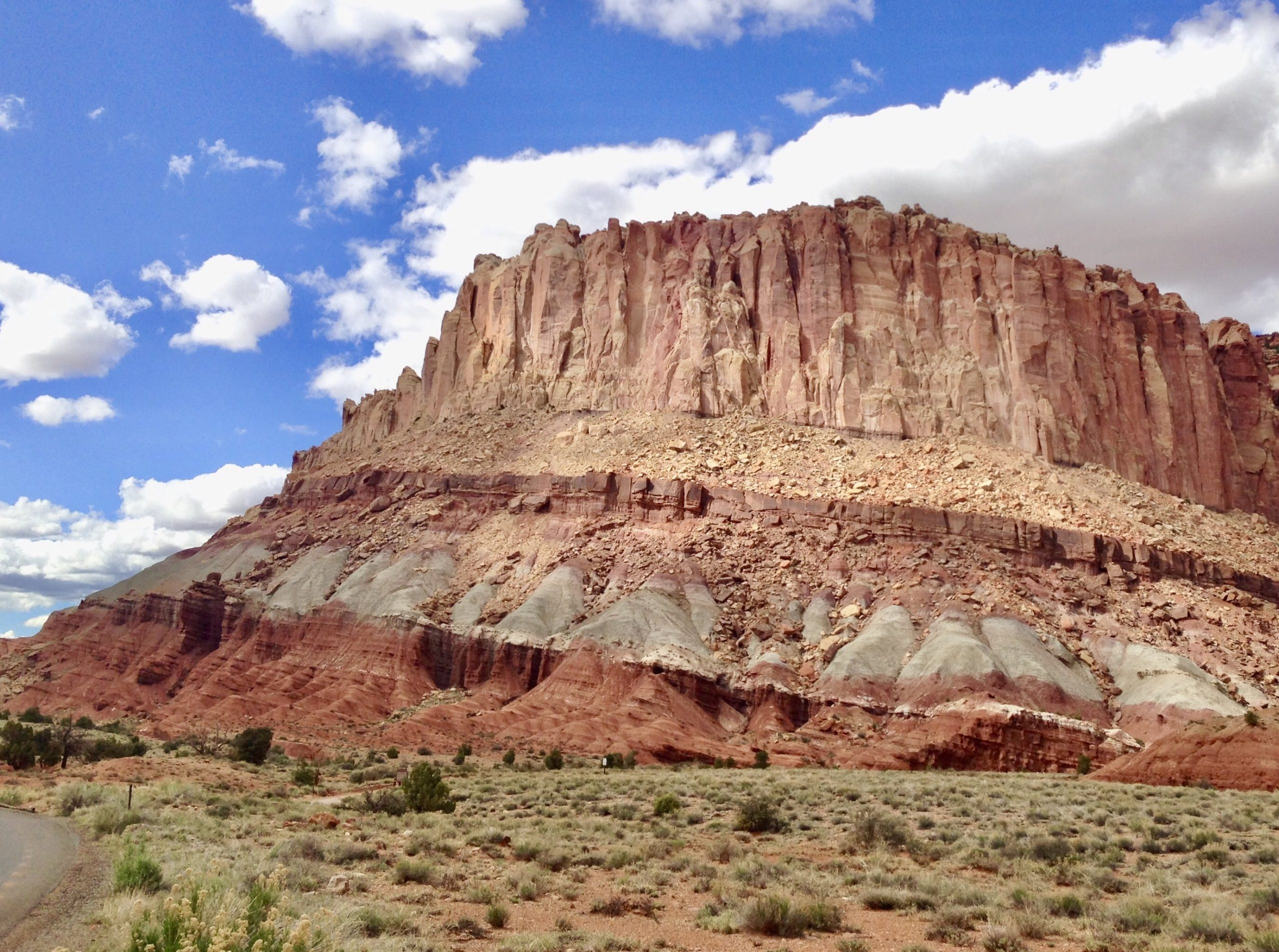 Scenic Drive at Capitol Reef National Park