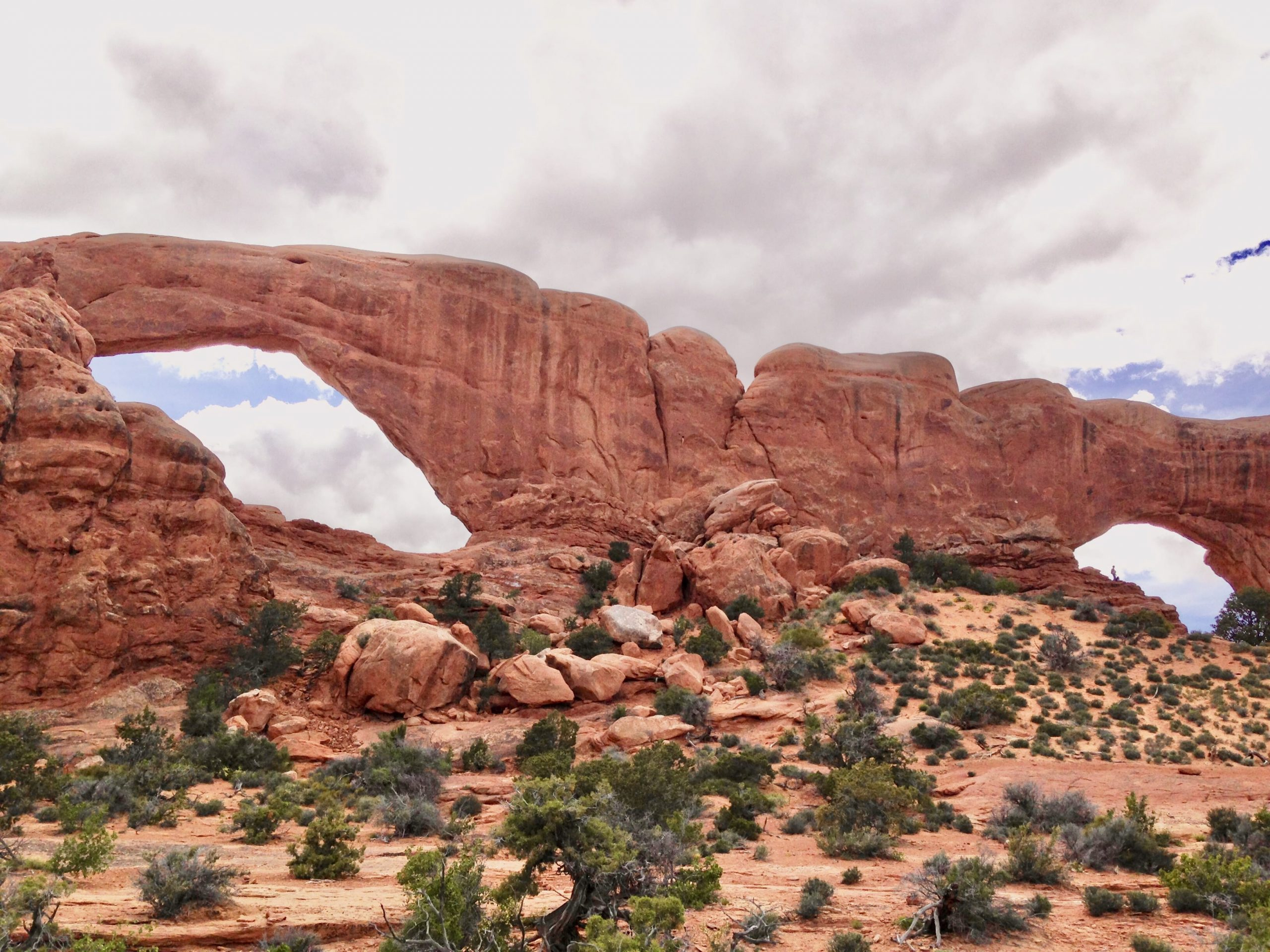 The Windows Arches at Arches National Parks