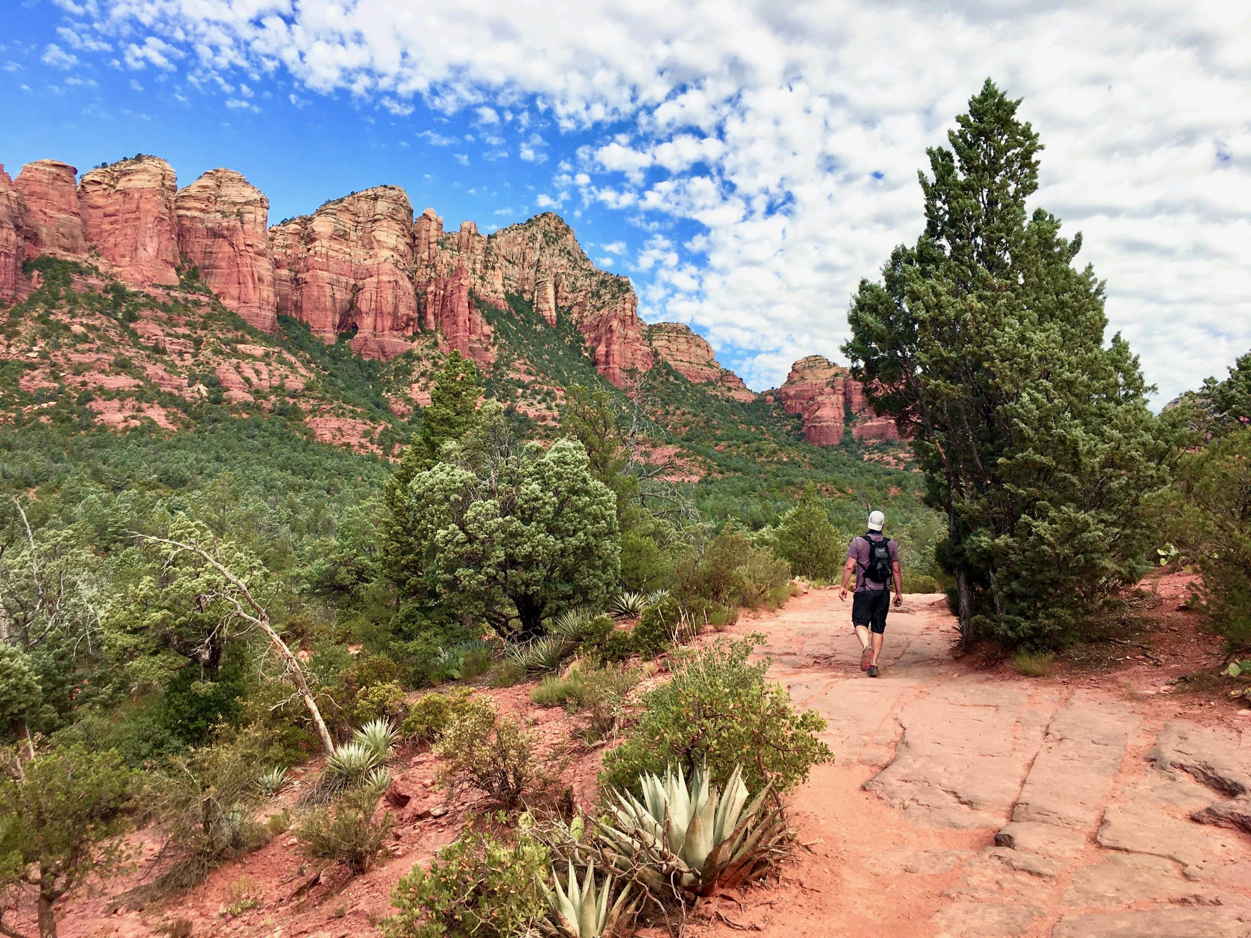 Hiking Soldier Pass Trail in Sedona AZ