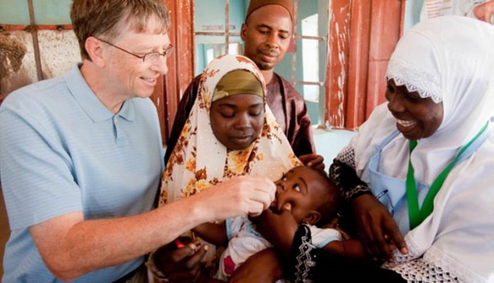 Bill and Melinda Gates Foundation promises to help Nigeria eradicate polio.