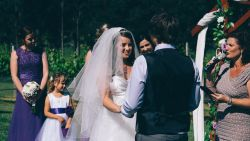 Groom calls his bride 'selfish' during their wedding vows