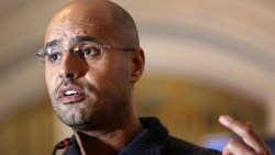 Gaddafi's son set for Libyan presidency