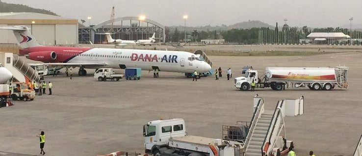 Dana Air bags Airline of the Year 2017 Award