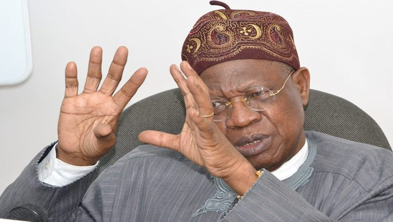 Looters list: No amount of intimidation will stop release of more names –Lai Mohammed