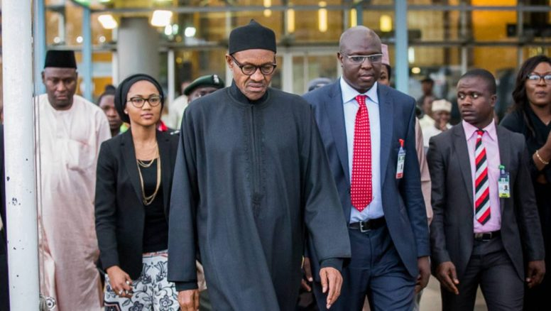 Nigerians in UK rally support for Buhari