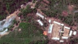 North Korea blows up nuclear bomb test sites
